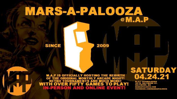 Mars-a-palooza | Marsapalooza Arcade is back!