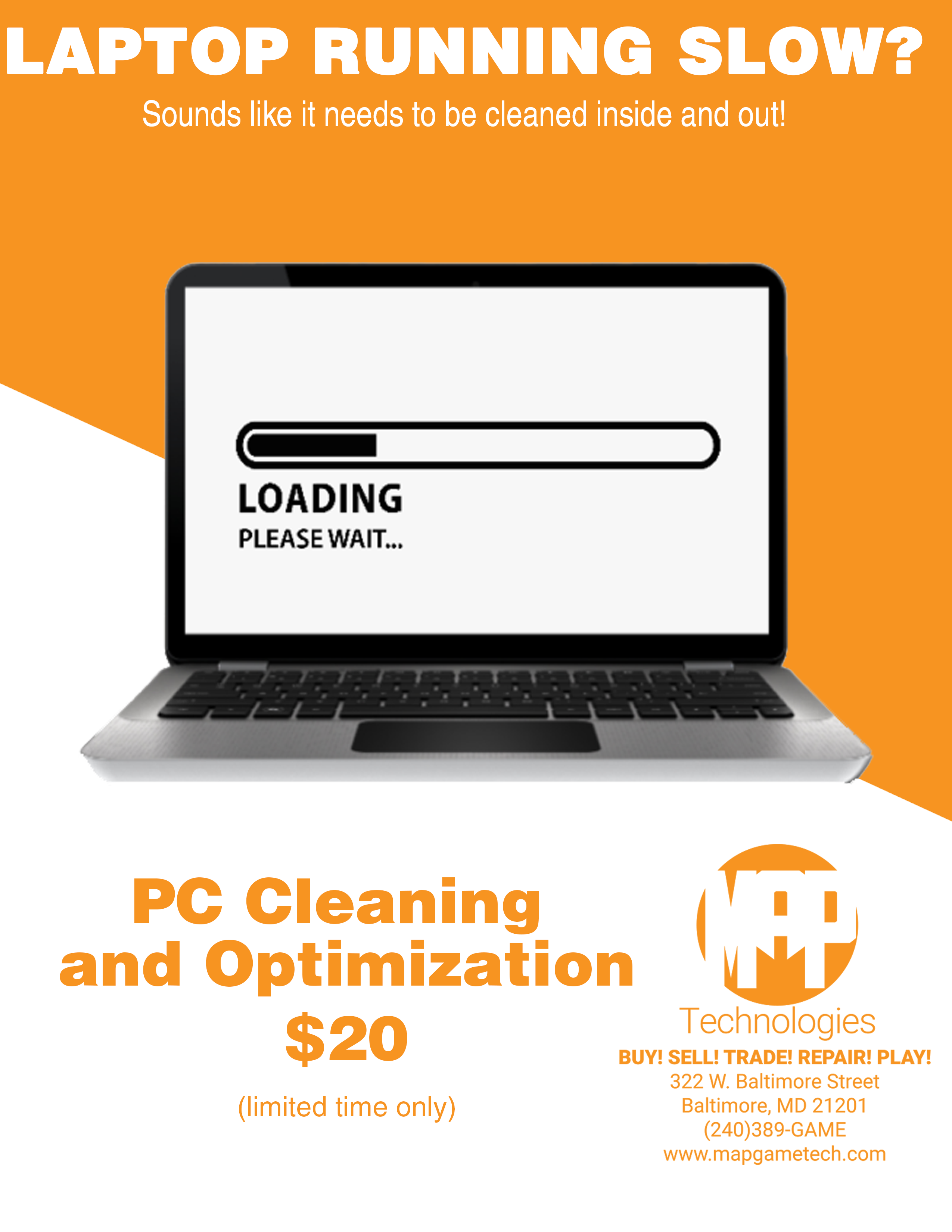 PC Cleaning and Optimization – $20