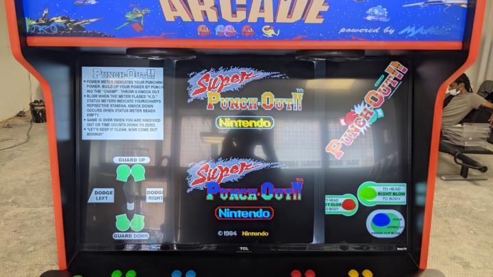 New Arcade Machine
