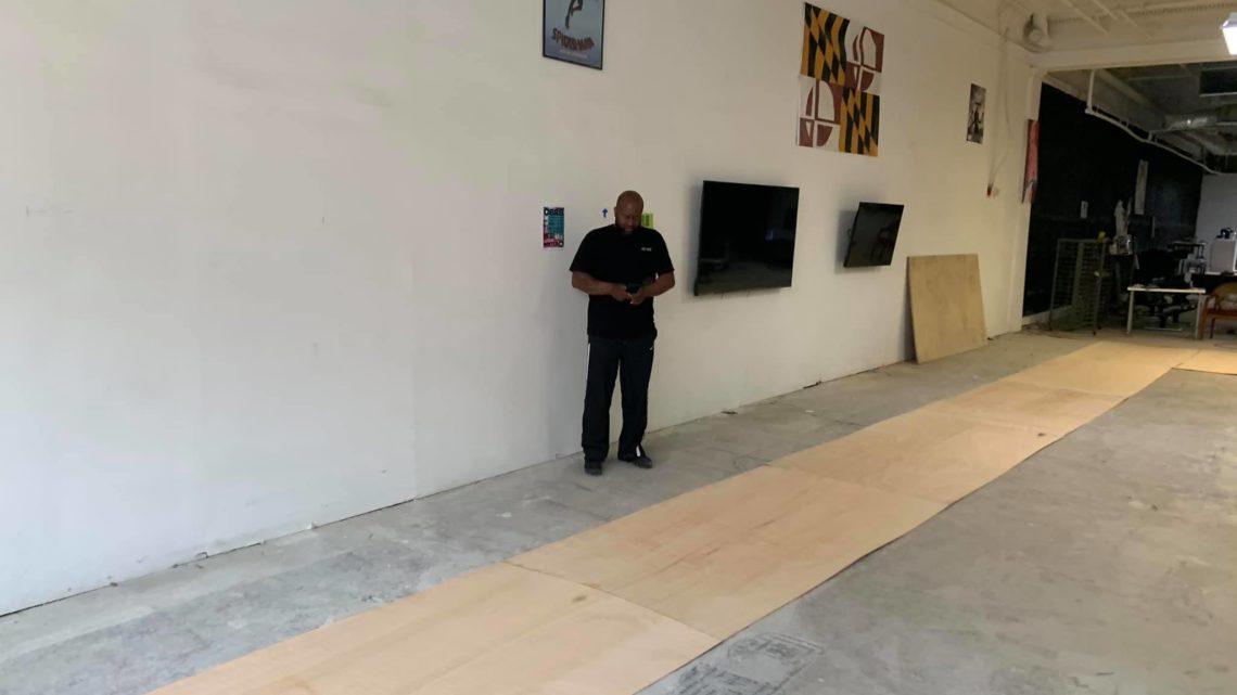 The Floor Installation Has Begun